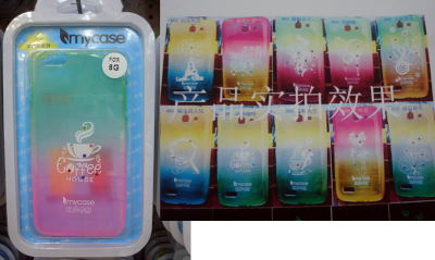 mayorista Samsung S3/S4/S5, Note2/3/4 Transparent /Luminous TPU cases
