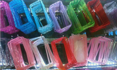 proveedor SamsungS3/S5/S4, Note4/3/2 Metal /Colorful transparen bumper