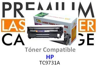 Toner Genérico Compatible con HP C9731A - 645A Cyan