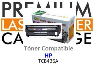 Toner Genérico Compatible con HP CB436A - 36A Negro