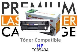 Toner Genérico Compatible con HP CB540A Negro