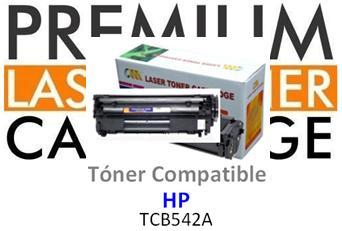 Toner Genérico Compatible con HP CB542A Amarillo