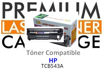Toner Genérico Compatible con HP CB543A Magenta