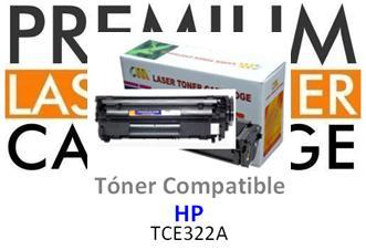 Toner Genérico Compatible con HP CE322A - 128A Amarillo