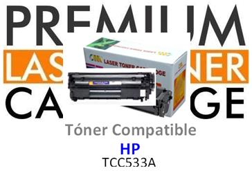 Toner Genérico Compatible con HP CC533 Magenta