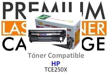 Toner Genérico Compatible con HP CE250X Negro