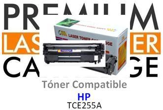 Toner Genérico Compatible con HP CE255A - 55A Negro