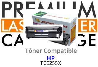 Toner Genérico Compatible con HP CE255X - 55X Negro