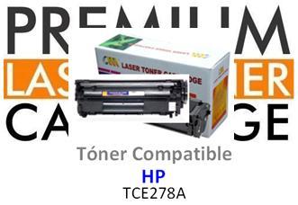 Toner Genérico Compatible con HP CE278A - 78A Negro