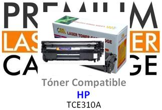 Toner Genérico Compatible con HP CE310A - 126A Negro