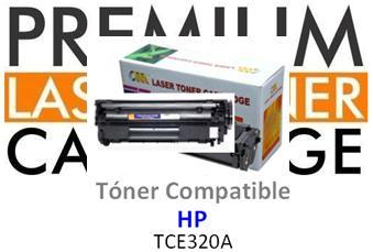 Toner Genérico Compatible con HP CE320A - 128A Negro