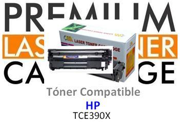Toner Genérico Compatible con HP CE390X - 90X Negro