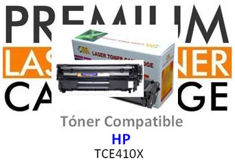 Toner Genérico Compatible con HP CE410X - 305X Negro