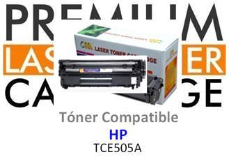 Toner Genérico Compatible con HP CE505A - 05A Negro