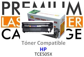 Toner Genérico Compatible con HP CE505X - 05X Negro