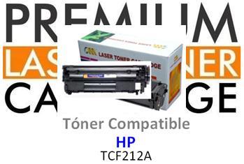 Toner Genérico Compatible con HP CF212A - 131A Amarillo