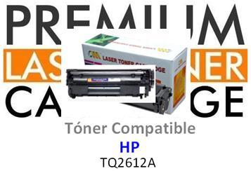 Toner Genérico Compatible con HP Q2612A - 12A Negro