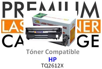 Toner Genérico Compatible con HP Q2612X - 12X Negro