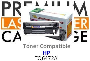 Toner Genérico Compatible con HP Q6472A - 502A Amarillo