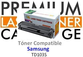 Tóner Genérico Compatible con Samsung MLT-D103S Negro