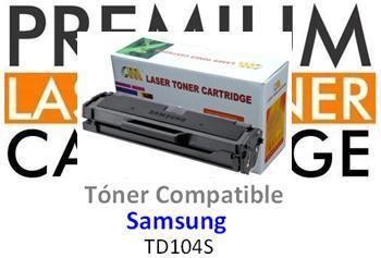 Tóner Genérico Compatible con Samsung MLT-D1042S / ML-1660 Negro