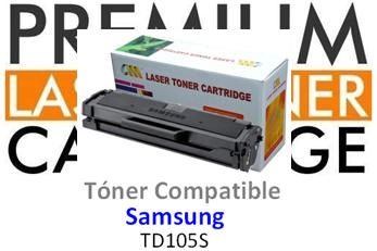 Toner Genérico Compatible con Samsung MLT-D1052S / ML-1910 Negro