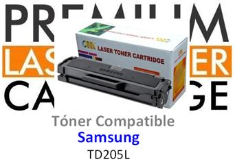 Toner Genérico Compatible con Samsung MLT-D205L Negro