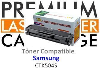 SAMSUNG CLP415/CLX4195 NEGRO CARTUCHO DE TONER GENERICO CLT-K504S