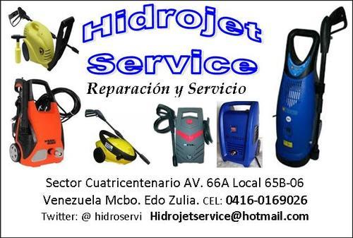 Reparacion de hidrojet - hidrolavadoras de varias marcas