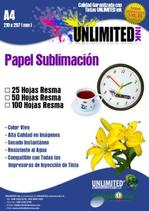 Para Sublimation Paper A4, Tazas11oz, Sublime, tintas, placas
