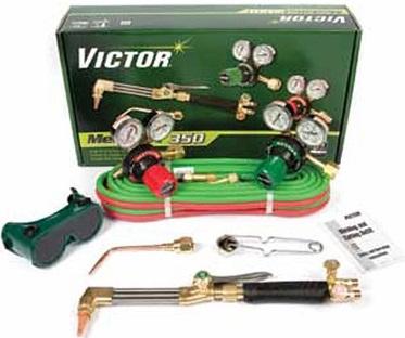 Equipo de Oxicorte Completo Marca Victor-USA Modelo Medalist 350