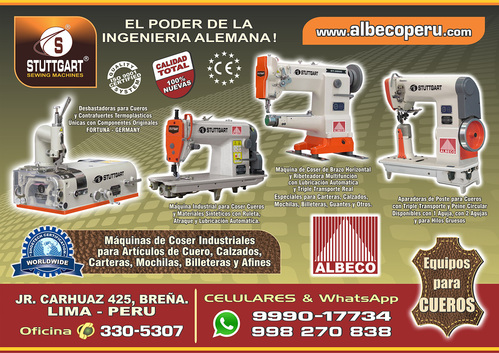 INDUSTRIAL SEWING MACHINE & APARADORAS POST