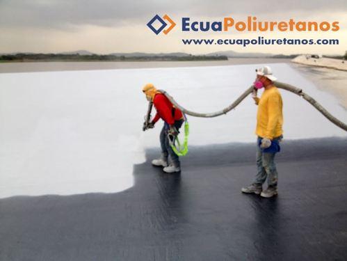 Recubrimiento Poliurea Impermeabilización Guayaquil Ecuador