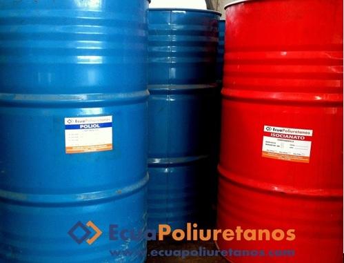 Poliuretano químicos componente a y b Isocianato y Poliol