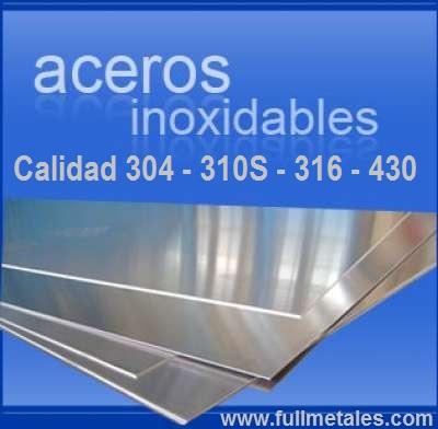 planchas de acero inoxidable 304-304L-310s-316L-321-.430