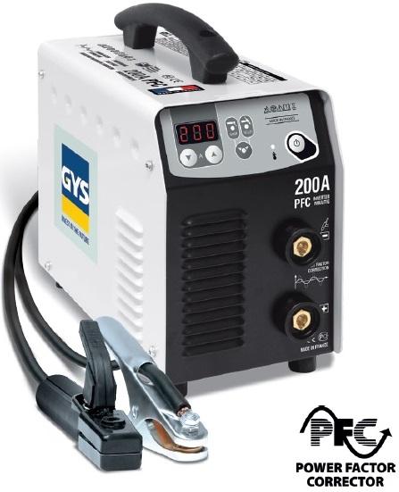 Maquina Soldadora Inversora Smaw Mca. GYS-Francia Mod. PROGYS 200A PFC