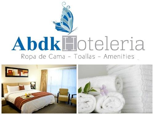 abdk Hoteleria en ropa de Cama, Toallas y amenities Hoteleros