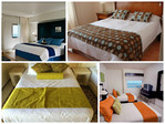 caminos de cama y/o pie de cama para hoteles