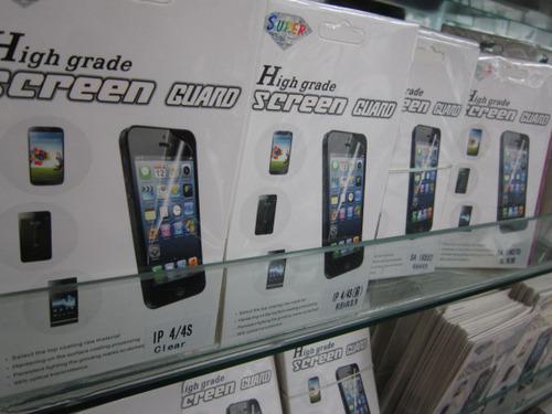 exportar Huawei G6/G7, P6/P7, Mate2/Mate7 High clear Pantalla protecto