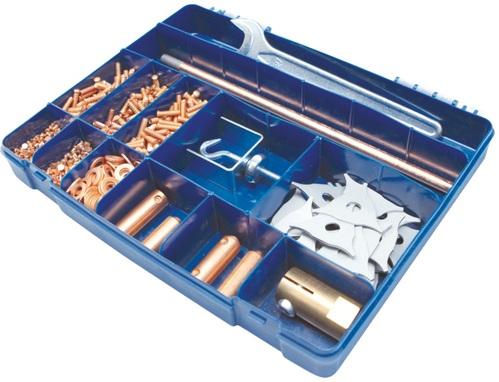 Kit de Accesorios para Acero (Spotter Box) GYS-Francia Codigo 050075
