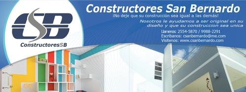 Constructores San Bernardo www.facebook.com/SanBernardohn