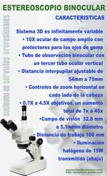 Stereoskop trinokularen
