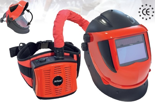 Mascara de Soldar con Sistema de Ventilacion Marca Weltek-Francia