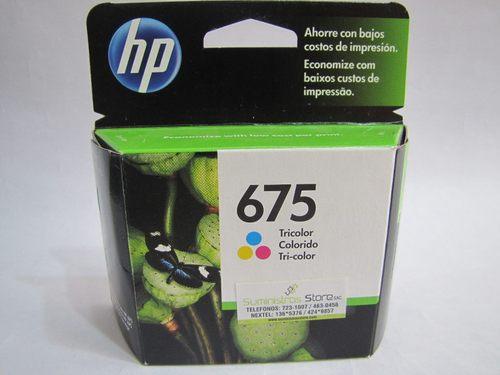 Tintas HP 675 negro
