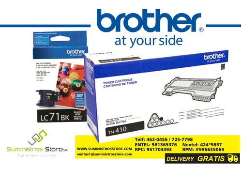 toner brother original llamenos delivery gratis !!!