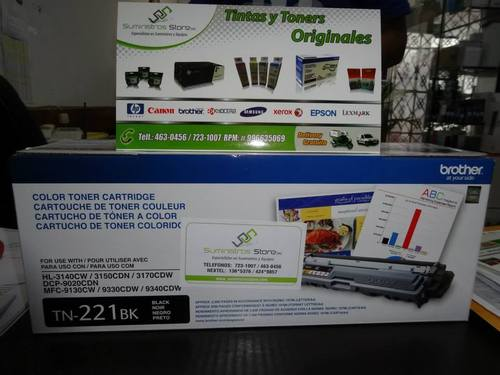 toner brother tn-221bk