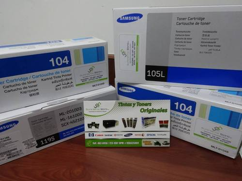 Original Samsung toner delivery to all Lima