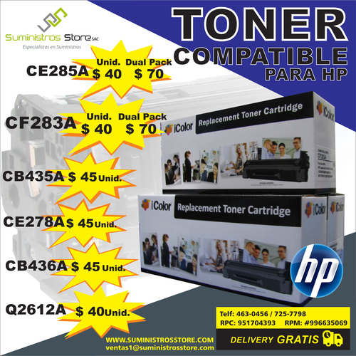toner hp compatible
