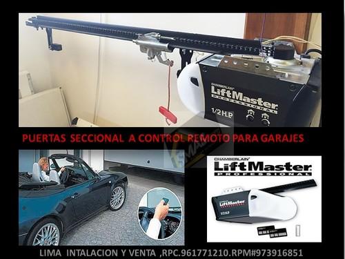 automatische garagedeuren in Lima