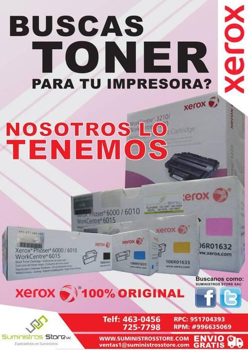 TONER XEROX WC3655 106R02737 -106R02739 -106R02741